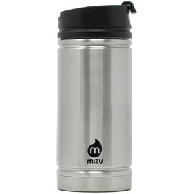 MIZU V5 Thermos 450ml con coperchio per il caffè, argento